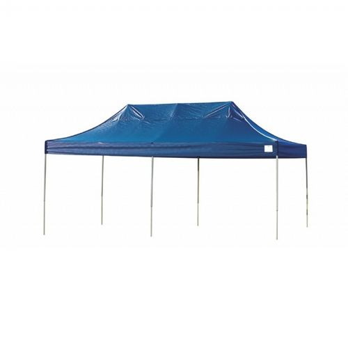 10 × 20 ST Pop-up Canopy, Blue Cover, Black Roller Bag 22535
