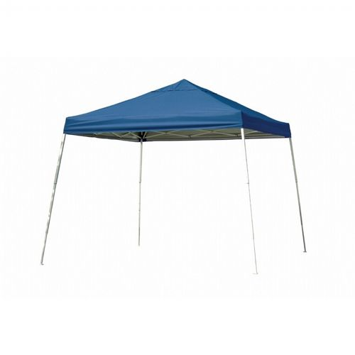 12x12 SL Pop-up Canopy, Blue Cover, Black Roller Bag 22546