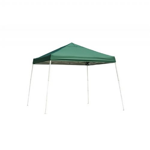 12x12 SL Pop-up Canopy, Green Cover, Black Roller Bag 22589
