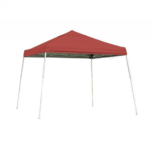 12x12 SL Pop-up Canopy, Red Cover, Black Roller Bag 22545