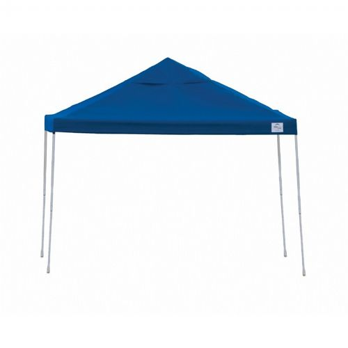 12 × 12 ST Pop-up Canopy, Blue Cover, Black Roller Bag 22540