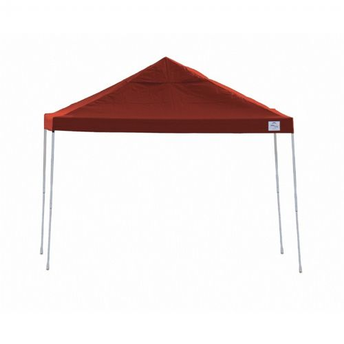12x12 ST Pop-up Canopy, Red Cover, Black Roller Bag 22539