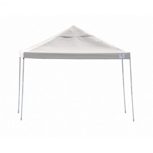 12x12 ST Pop-up Canopy, White Cover, Black Roller Bag 22538