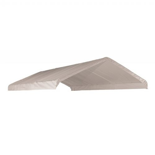 "12 × 20 ft. White Canopy Replacement Cover, Fits 2"" Frame 10049"