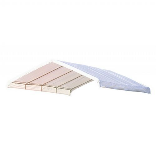 "12 × 26 ft. White Canopy Replacement Cover, Fits 2"" Frame 10059"