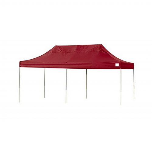 Pop-Up Canopy HD - Straight Leg 10 × 20 ft. Red Cover 22537