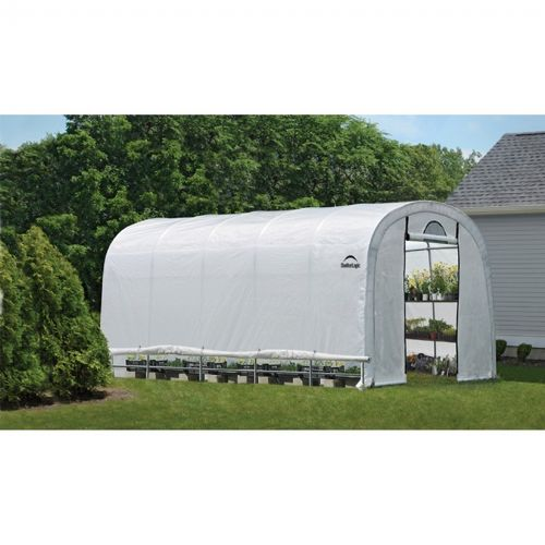 Round Style Greenhouse with Side Vents 12 × 20 × 8 70592