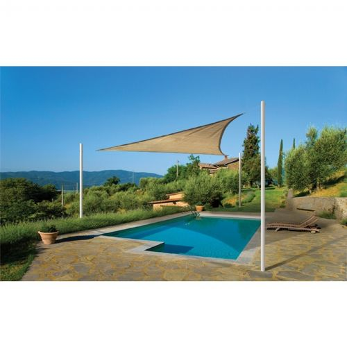 Triangle Shade Sail - Sand 230 gsm 16 ft. 25721