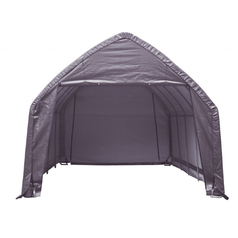 "Most Popular in Connecticut: Home & Garden: Storage Shelters: SUV/Truck Shelter, 1-5/8"" 6-Rib Frame, Grey Cover 13 × 20 × 12"