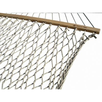 "Polyester Rope Hammock 60"" - Double (Sand) POLY25"