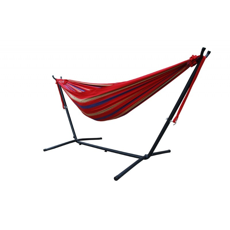 Brazilian Style Hammock - Single (Regal Red)
