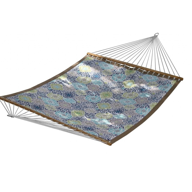 Quilted fabric hammock double pacifica - How to make a cloth hammock ...