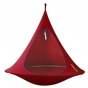Cacoon Double Hanging Nest Chair Chili Red CAC-DR-005