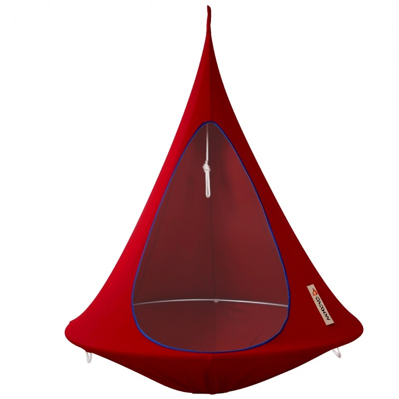Cacoon Single Hanging Nest Chair Chili Red