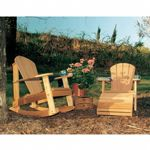 Cedar Adirondack Collection Natural WRF5100SETCVD