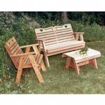 Cedar Country Hearts Furniture Collection Natural WF4102CVD