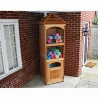 Cedar Entertainment and Storage Unit Natural ELY1001CVD