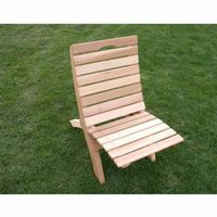 Cedar Traveling Style Folding Chair Natural WRFFTCCVD