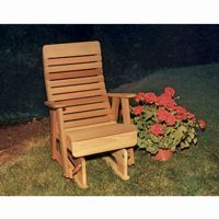 Cedar Twin Ponds Rocking Glider Natural 2' WF1230-2CVD