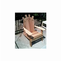 Cedar Wine Glass Adirondack Chair Natural WRF5100WGCVD