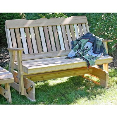 Cedar Countryside Rocking Glider Natural 2' WF2SEGCVD