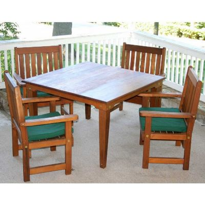 "Cedar Get-Together Dining Set Natural 36"" WF6405CCVD"