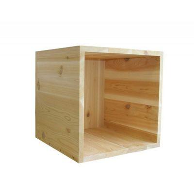 Cedar Storage Cube Natural 18 Quot X 18 Quot Wrf1818cubecvd Cozydays
