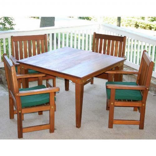 "Cedar Get Together Dining Set Natural 47"" WF6403CCVD"