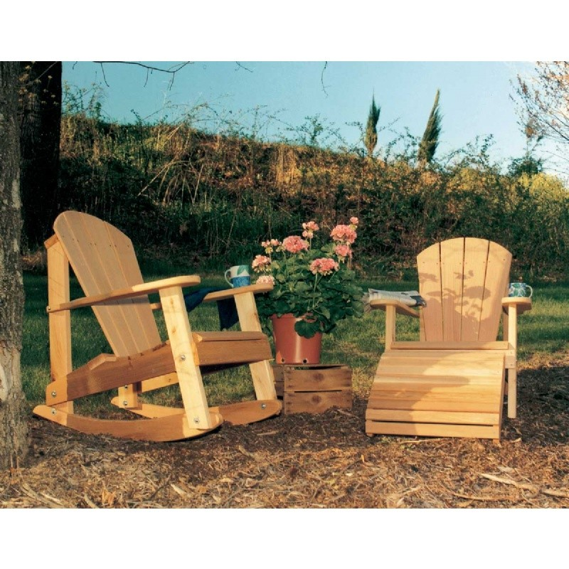 Cedar Adirondack Collection Natural