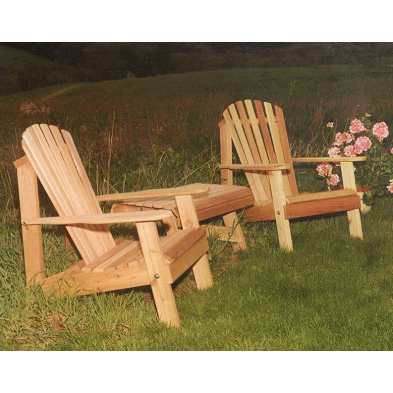 Cedar American Forest Adirondack Chair Collection Natural