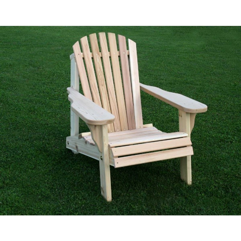 Cedar American Forest Adirondack Chair Natural
