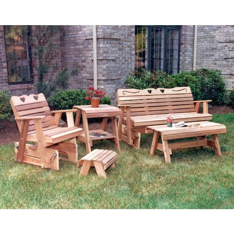 Cedar Country Hearts Glider Collection Natural : 154patiogroups45920130401wa4x6e0 from www.cozydays.com size 800 x 800 jpeg 300kB