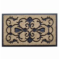 "Dirtbuster Rubber Coir Mat 18"" × 30"" - Majesty NH-18027"