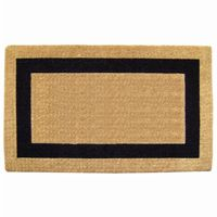 "Heavy Duty Coir Mat with Black Single Picture Frame 22"" × 36"" NH-O2019"