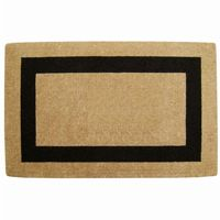 "Heavy Duty Coir Mat with Black Single Picture Frame 36"" × 72"" NH-O2178"