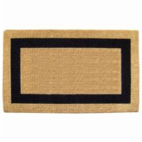 "Heavy Duty Coir Mat with Black Single Picture Frame 38"" × 60"" NH-O2031"