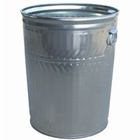Witt Outdoor 32 Gal. Can Galvanized Steel Heavy Duty W-WHD32C