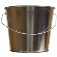 Witt Outdoor 5 Qt Pail Galvanized Steel W-W5QTG