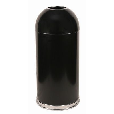 Witt Indoor Dometop 15 Gal. Black Steel with Open Top W-415DTBK