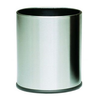 Witt Indoor Executive Wastebasket 4 Gal. Stainless Steel W-66SS