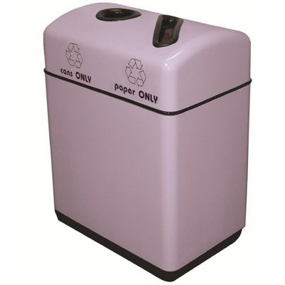 Witt Indoor Recycling Containers 12 Gal. Fiberglass W-11RR-241631