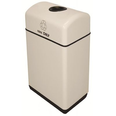 Witt Indoor Recycling Containers 24 Gal. Fiberglass W-11RR-121631