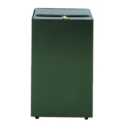 Witt Indoor Secure Document Container 32 Gal. Charcoal Steel W-32MSR-CB