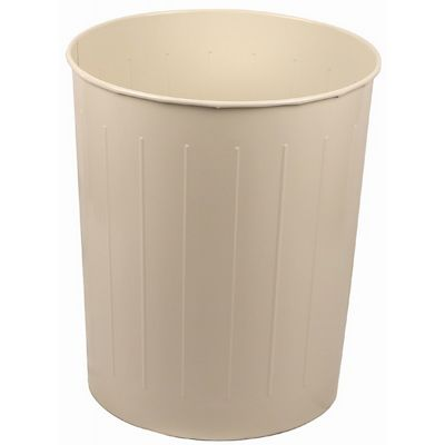 Witt Indoor Wastebasket Almond Steel W-4AL