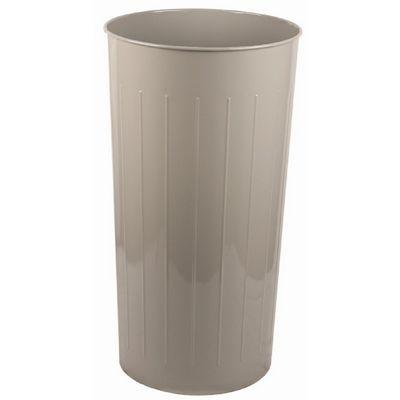 Witt Indoor Wastebasket Slate Steel W-10SL