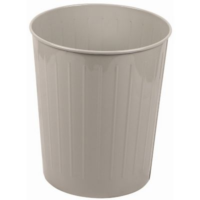 Witt Indoor Wastebasket Slate Steel W-4SL