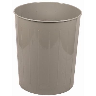 Witt Indoor Wastebasket Slate Steel W-5SL