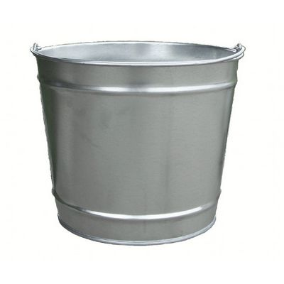 Witt Outdoor 10 Qt Pail Galvanized Steel W-W10100