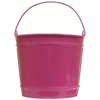 Witt Outdoor 10 Qt Pail Pink Radiance Steel W-W10PCPR