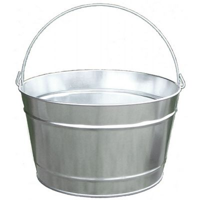 Witt Outdoor 16 Qt Pail Galvanized Steel W-W10161